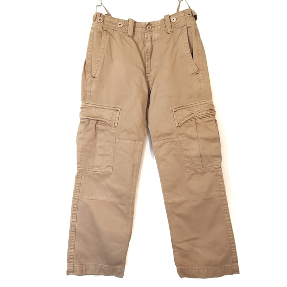 Gap Khaki Heavy Duty Cotton Cargo Pants
